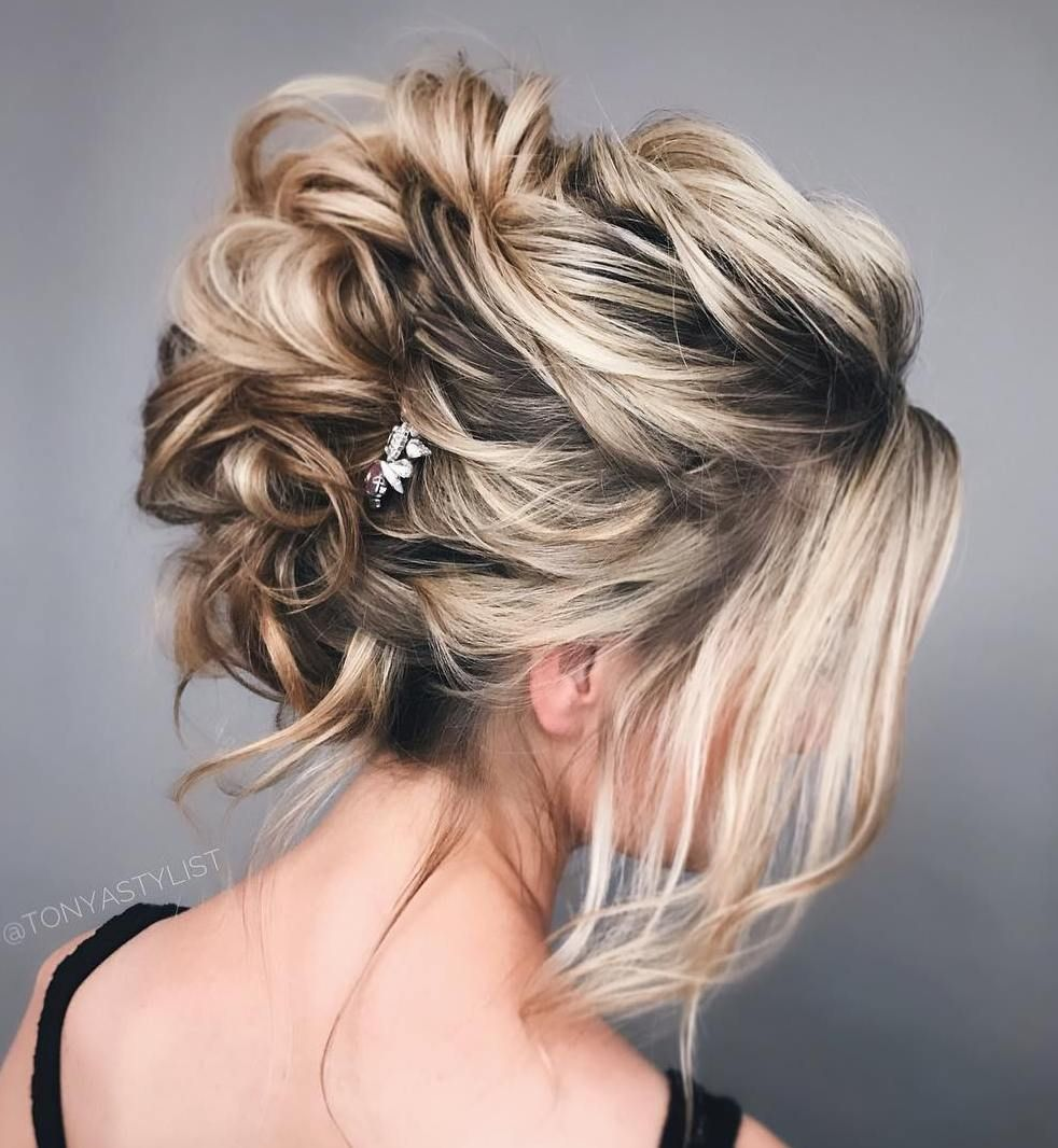 Trendiest Updos for Medium Length Hair Mohawk updo Medium