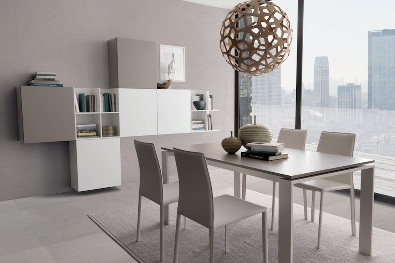 Come Abbinare Sedie Diverse stanza da pranzo moderna