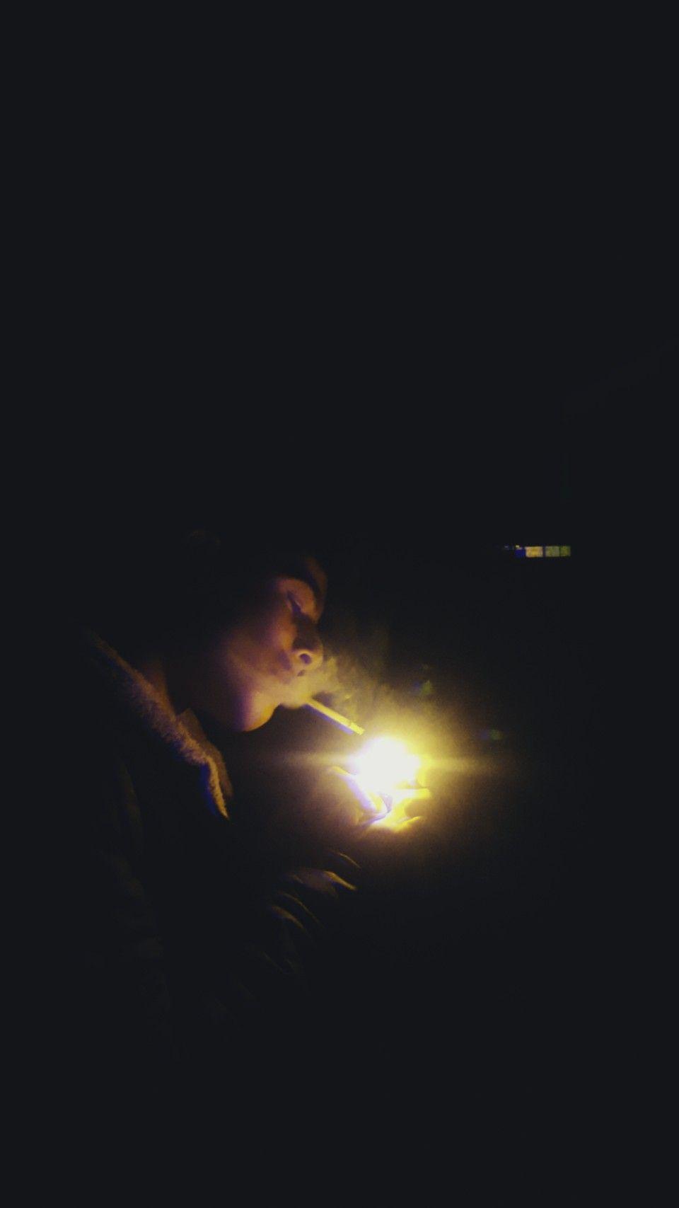 smoking in a rain in a darkniss | mood | Smoke, Sunset, Rain