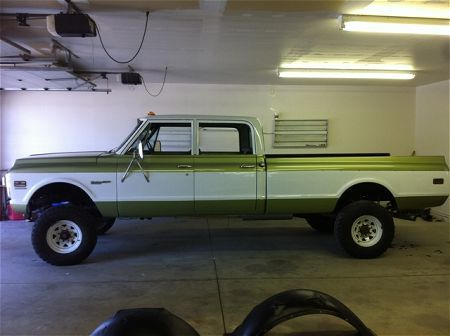 custom 1970s chevy vans   1970 Chevrolet C20 1