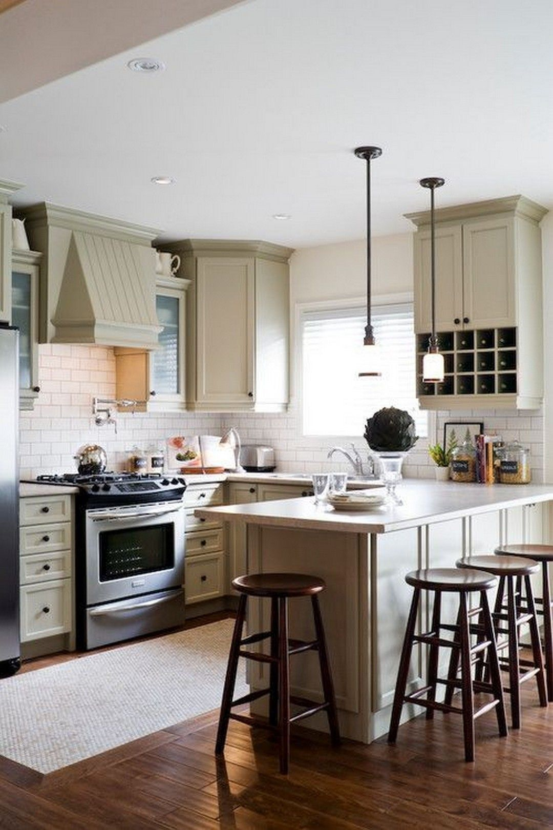 38 best layout design ideas for small kitchen 5