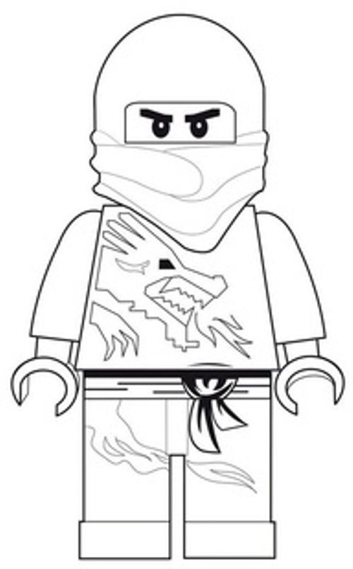 Lego Ninja Pose | Lego Coloring Pages | Pinterest | Ausmalbilder ...