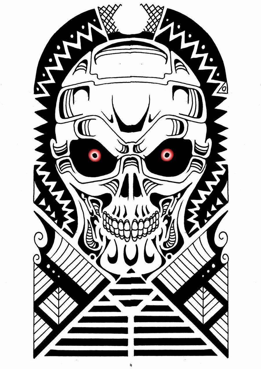 Tattoo Maori E Tribal So As Top Mlk Desenhos Maori Desenhos De