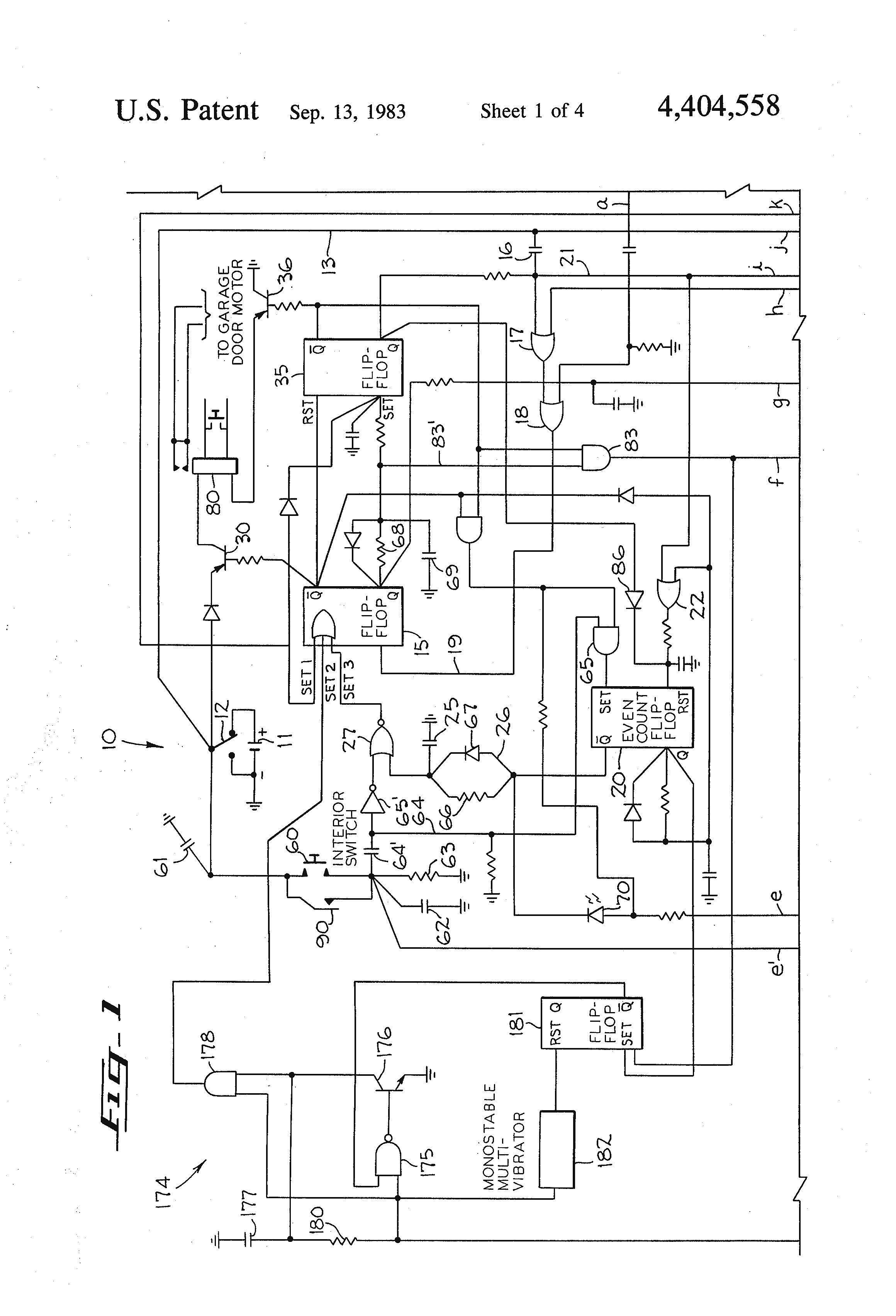 Unique Wiring Diagram Garage Door Sensor Diagram Diagramsample Diagramtempl Craftsman Garage Door Opener Liftmaster Garage Door Opener Craftsman Garage Door
