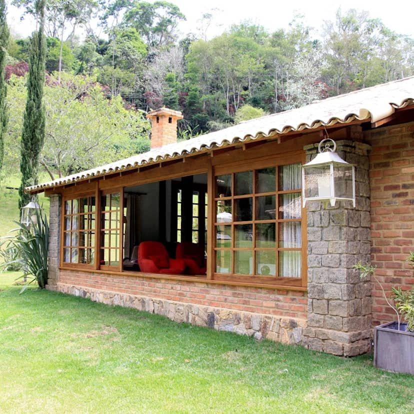 Una Casa Rustica Totalmente De Ensueno Homify Casas Rusticas Casas De Campo Casas De Campo Sencillas