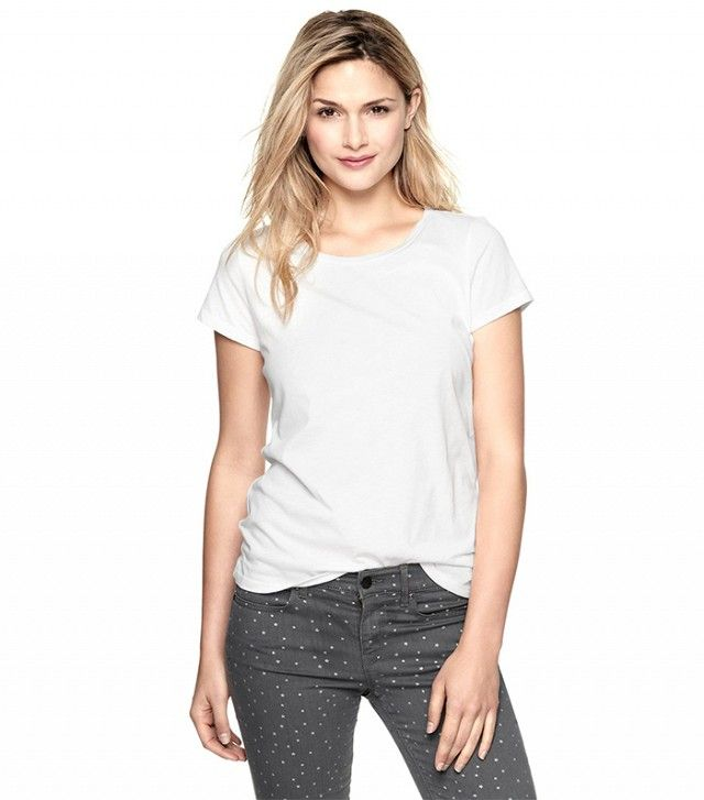 The One T-Shirt You Can Wear With Everything You Own | White tees ...