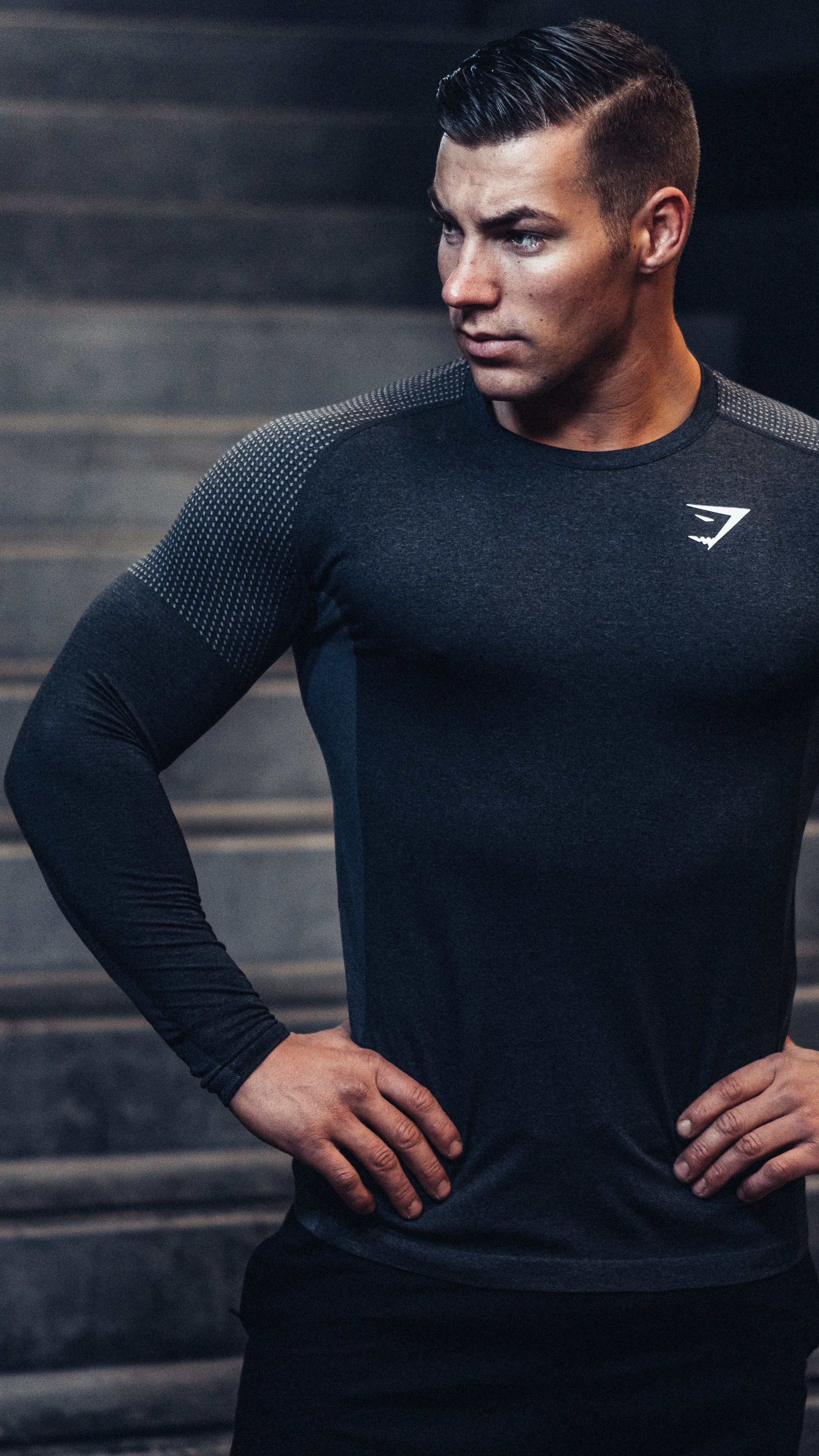 1a3893f0cb4 The Gymshark Ghost Long Sleeve T-shirt is designed with your workout in  mind