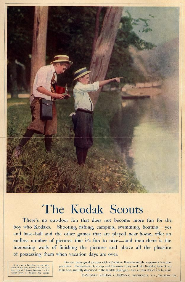 Children Outdoors 1912 Vintage Photography Kodak Photography Camera