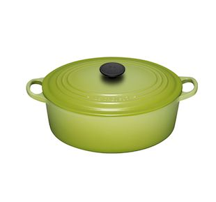 We love out Le Cruset Oval French Dutch Oven! We use it all the time. Just another item that will last and last.