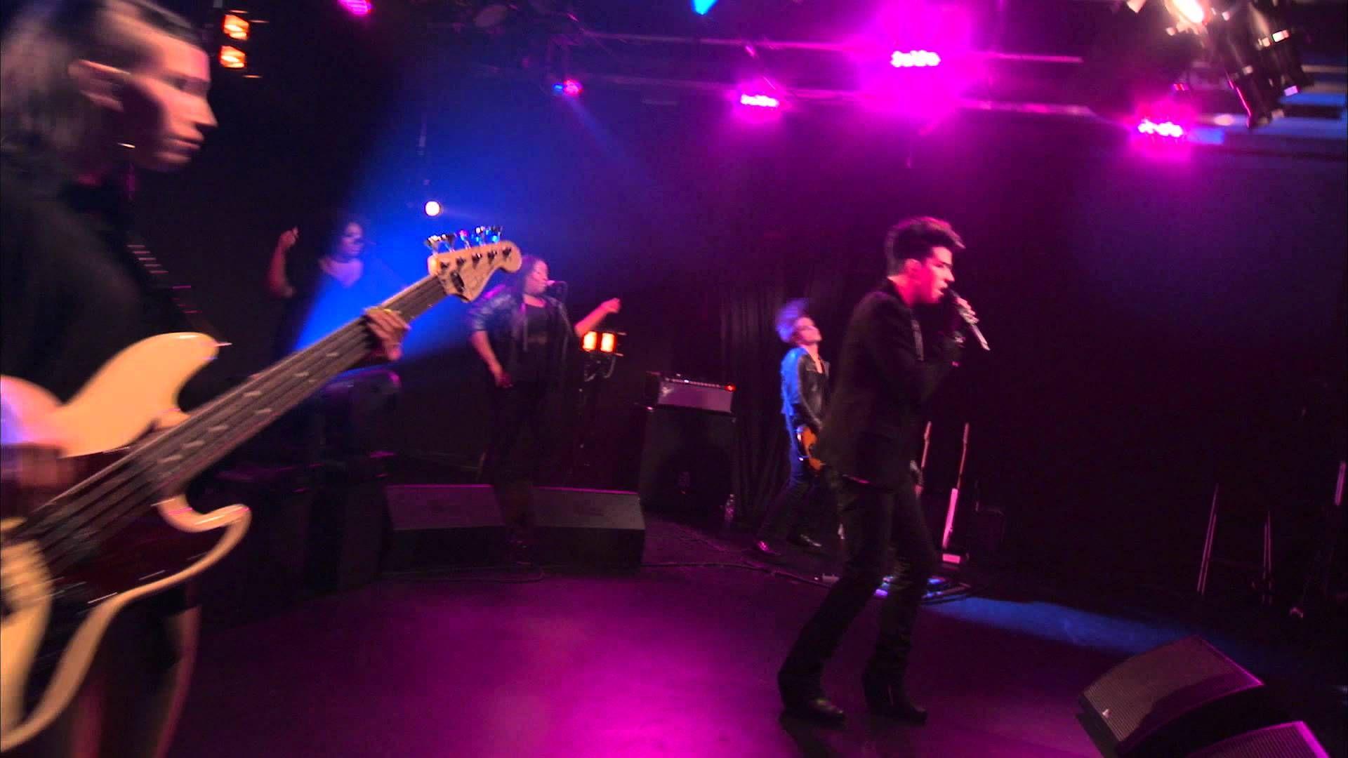 Adam Lambert Rocks! AOL Sessions