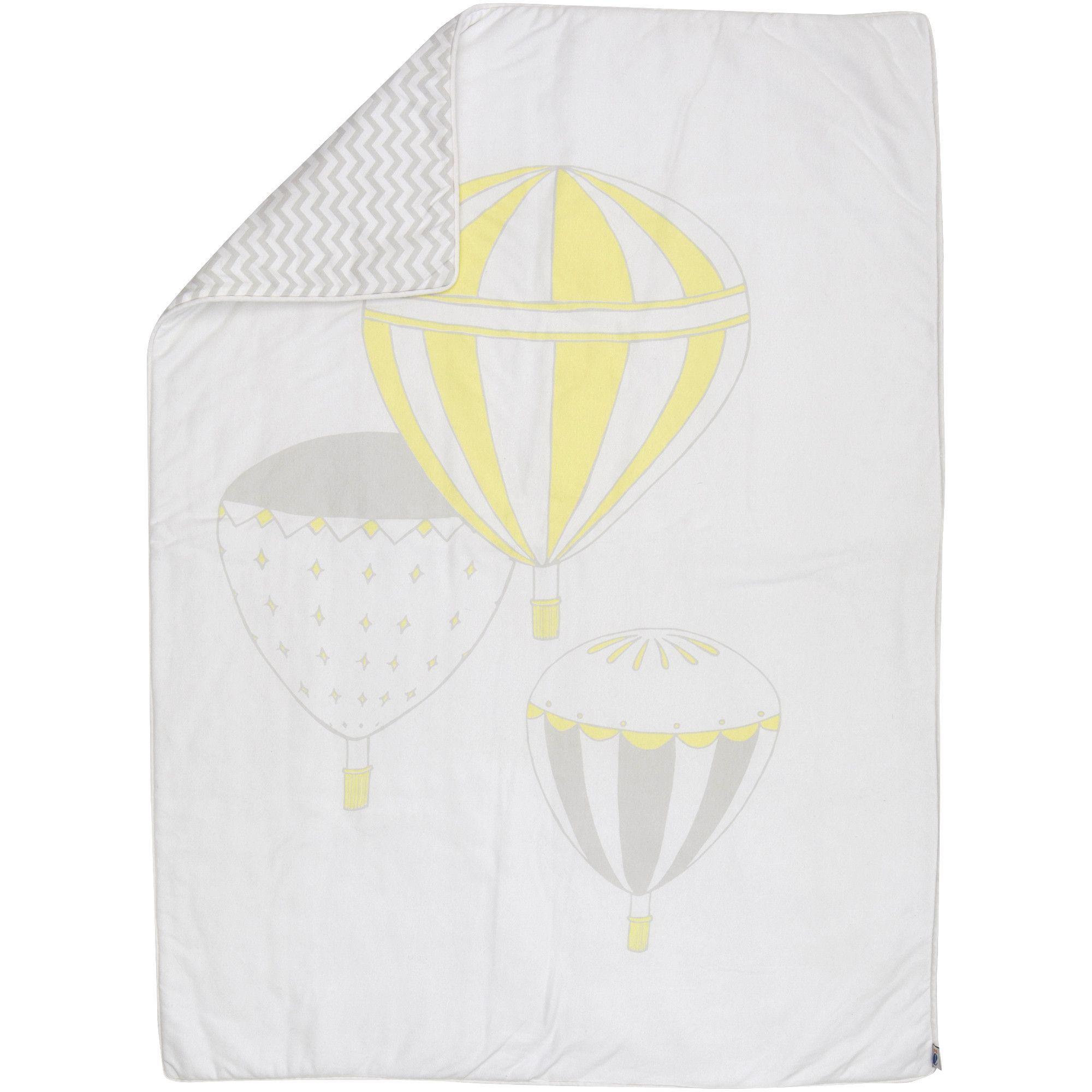 Hot Air Balloons Reversible Duvet Cover