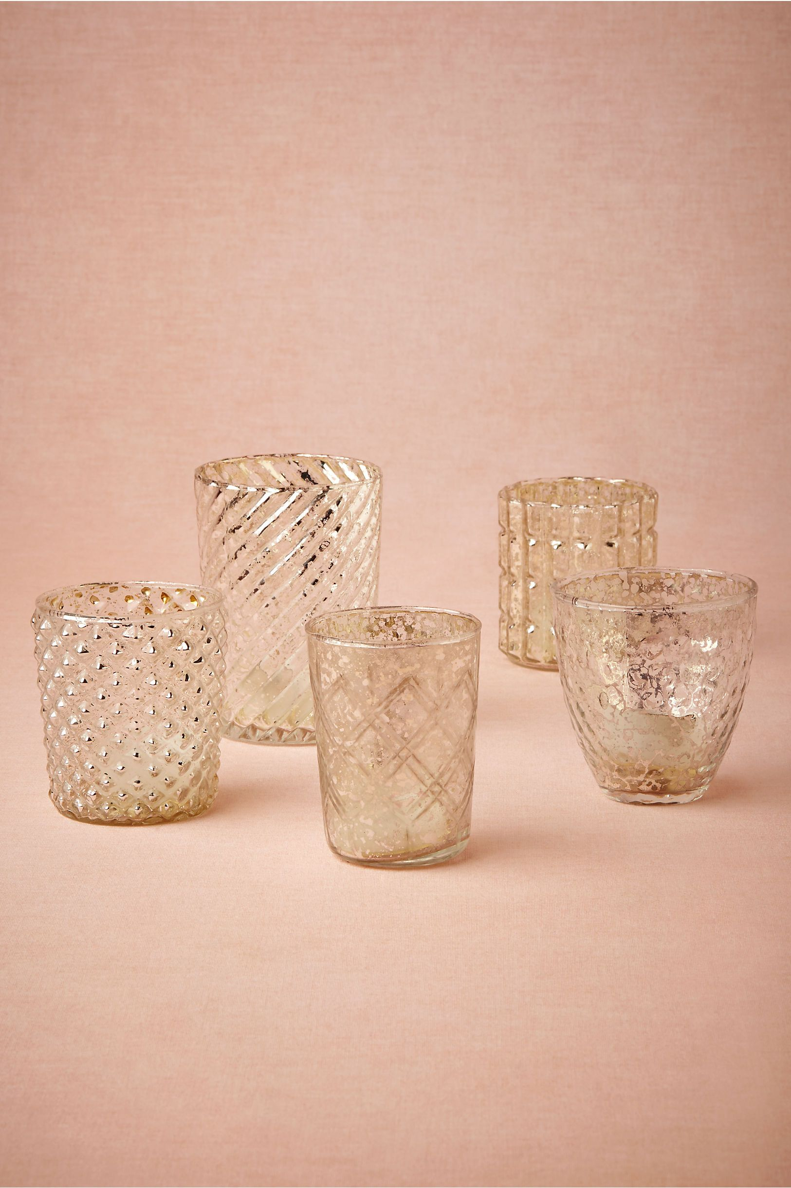 bric a brac silver mercury glass votives from bhldn 30 gift ideas recep o casamento. Black Bedroom Furniture Sets. Home Design Ideas
