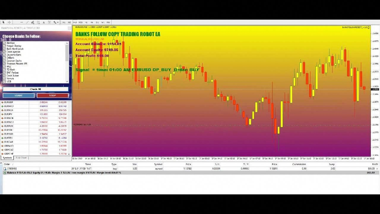Forex Robot Big Banks Copier Live Account Performance Swing