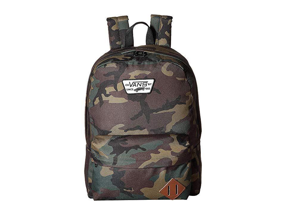 71f1af2db7 Vans Old Skool II Backpack (Classic Camo Black) Backpack Bags. Get back