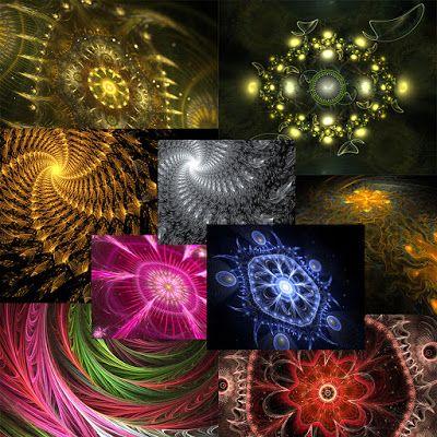 Creative Mind's Studio: FRACTAL MAGIC PAPERS