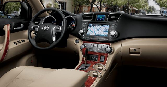 2018 Toyota Kluger Toyota Highlander Interior Toyota Highlander
