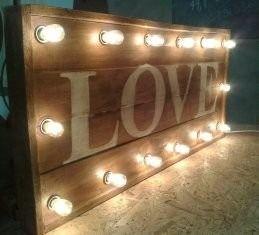 Carteles letras luminosas para eventos locales comerciales - Letras luminosas decoracion ...