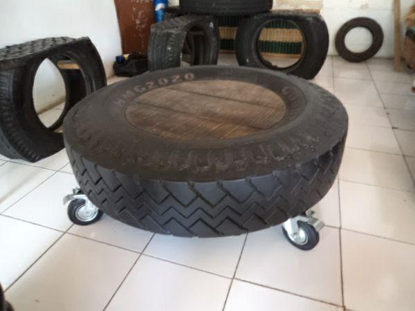 stuhl sessel DIY Möbel aus Autoreifen wohnzimmer Reifen - stühle für wohnzimmer
