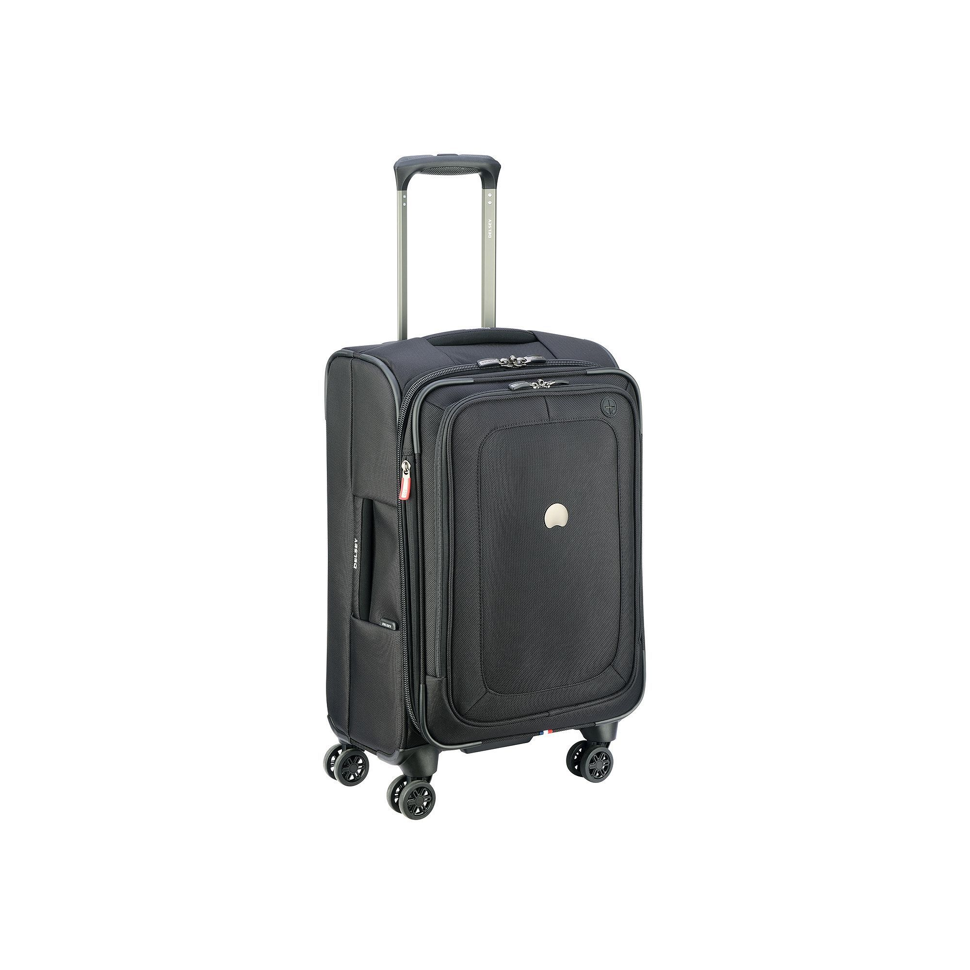 Delsey Cruise Lite 21-Inch Spinner Carry-On Luggage, Black