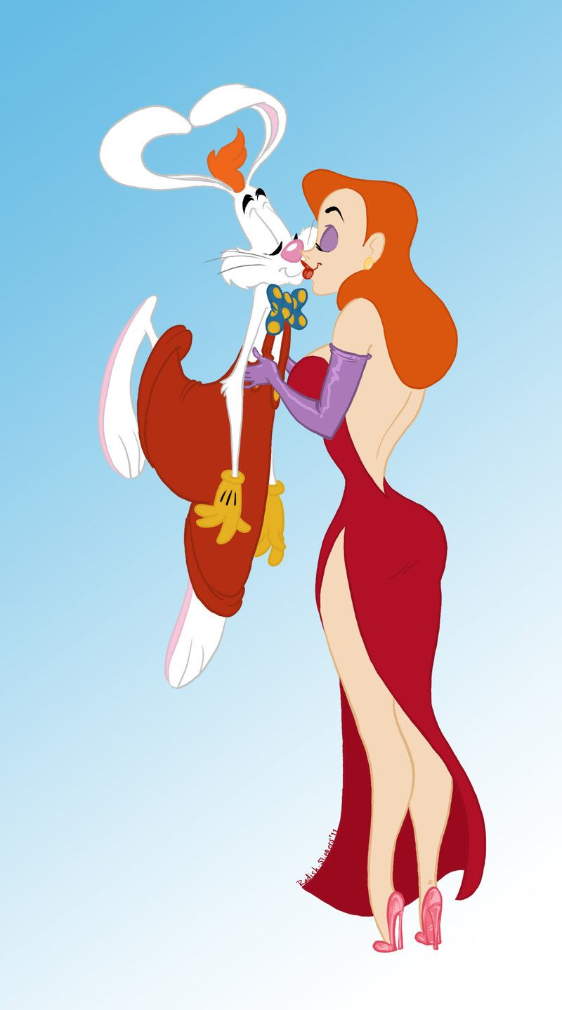 Bunny love | Who Framed Roger Rabbit | Pinterest