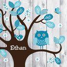 Lillybird Ethan - Geboortekaartje