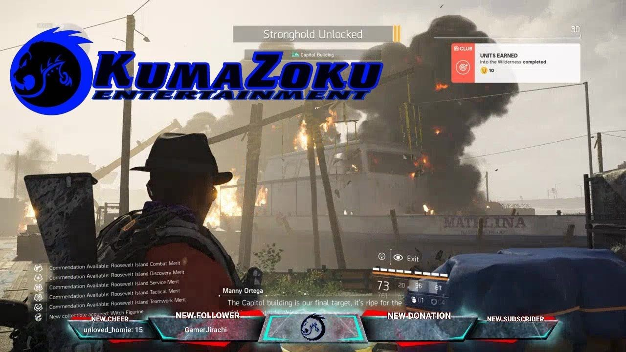 Beast and ceez tackle roosevelt stronghold the divison 2