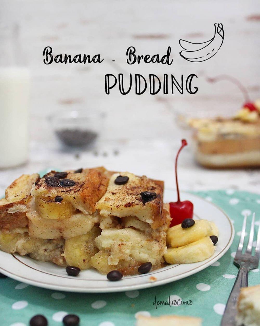 14 Cara Membuat Puding Roti Enak Lembut Dan Sederhana Puding Roti Puding Pudding Desserts