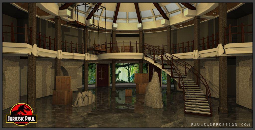 JURASSIC BEDROOM MURAL jurassic park new york city ...  |Jurassic Park Interior Design