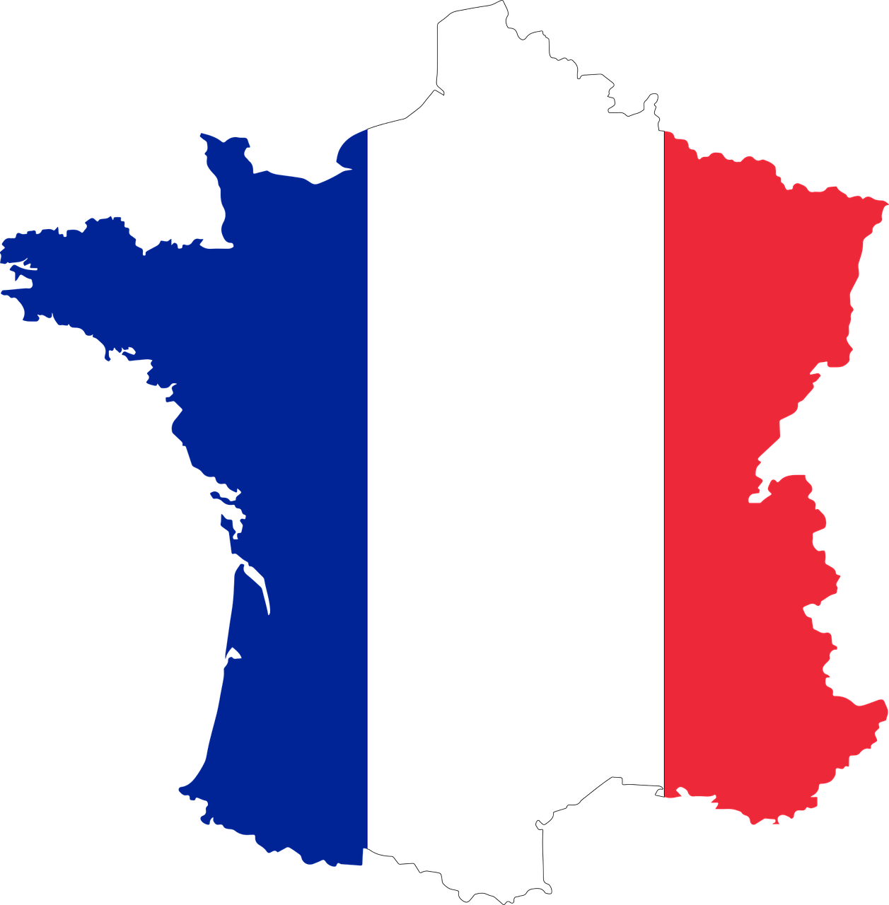 France, Borders Country Flag France Map Nation Fra #france ...