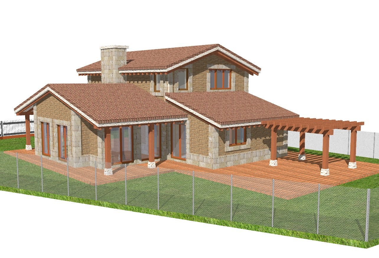 Casas contemporaneo exterior jard n patio puertas for Decoracion exterior jardin contemporaneo