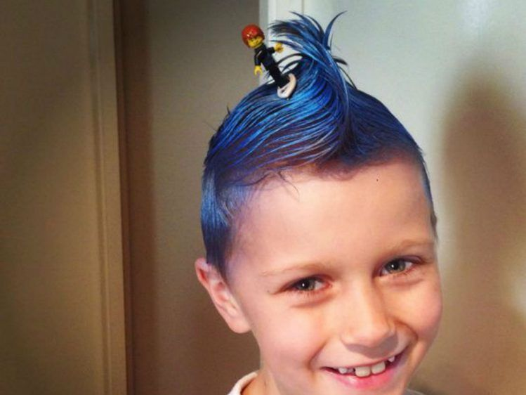 9 Silly Hair Day Ideas For Kids With Images Kids Hairstyles