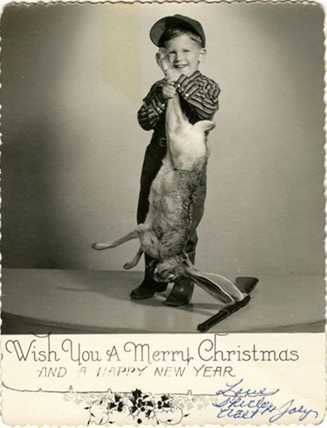 These bizarre do it yourself family christmas cards from the 1950s these bizarre do it yourself family christmas cards from the 1950s and 1960s you solutioingenieria Images