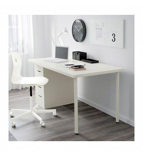 Ikea Linnmon Alex Table 150x75cm White Drawer Unit Home Office Desks Ikea