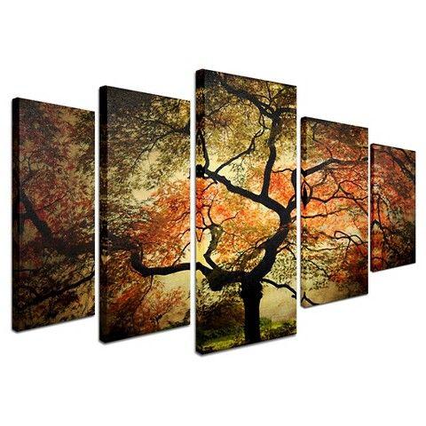 Philippe sainte laudy multi piece wall art japanese