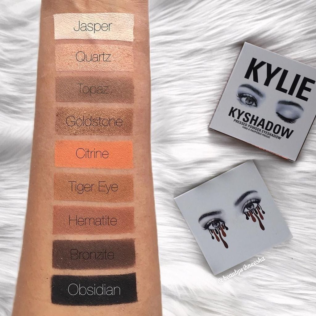 Kyshadow - The Bronze Extended Palette by Kylie Cosmetics #12