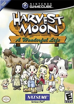 Harvest Moon A Wonderful Life Harvest Moon A Wonderful Life Wikipedia The Free Encyclopedia Harvest Moon Harvest Moon Gamecube Harvest Moon Game