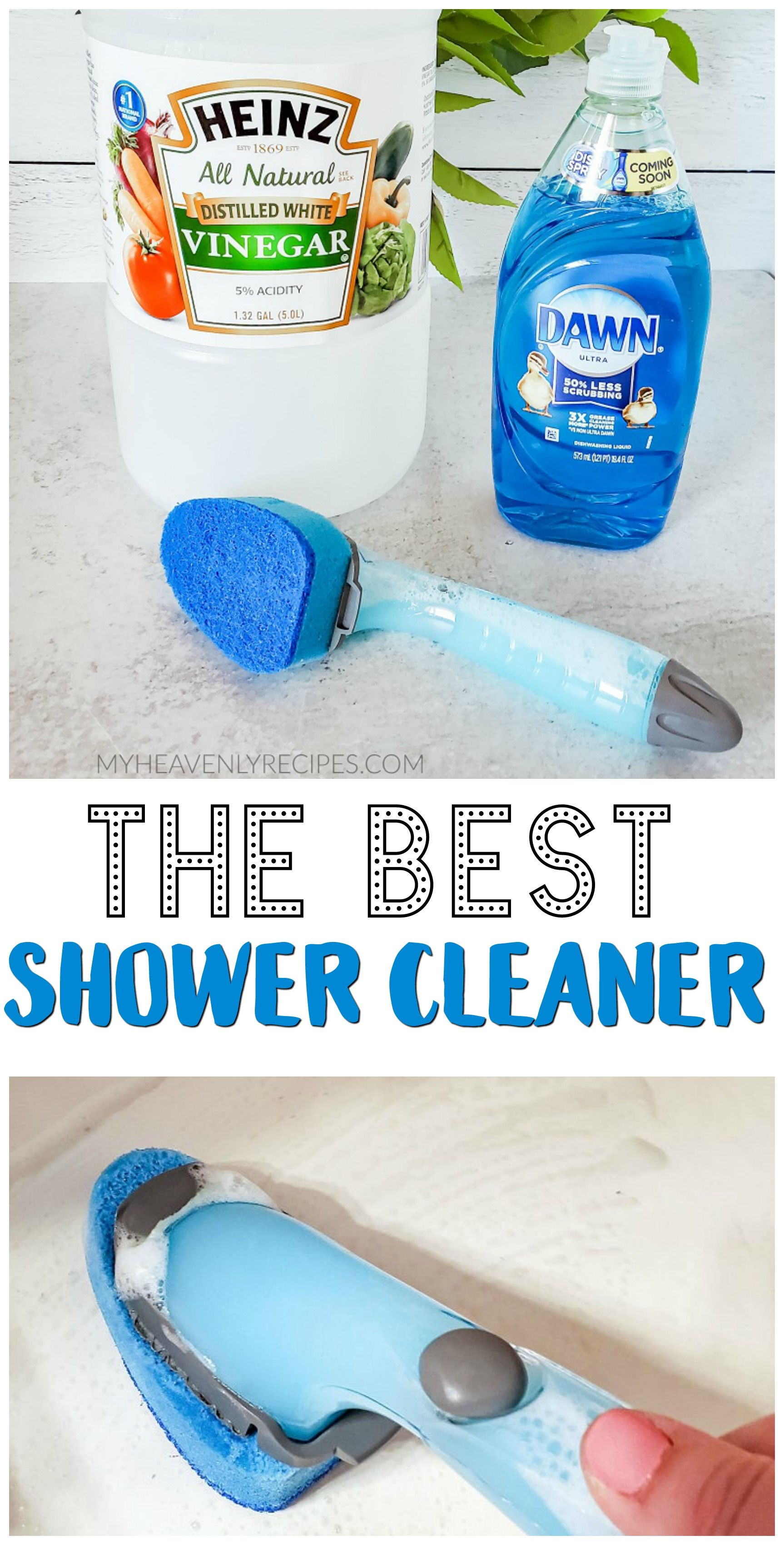 The Best Shower Cleaner Recipe The Best Shower Cle