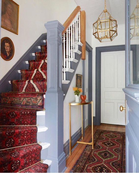 Staircase Ideas For Your Hallway That Will Really Make An: 5 Ways To Dress Up Your Staircase