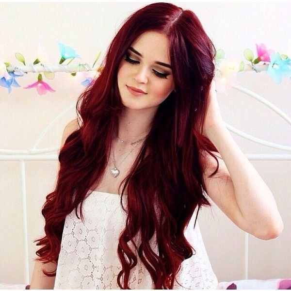 How to Get (and Keep) the Best Red Hair Dye Job ❤ liked on ...