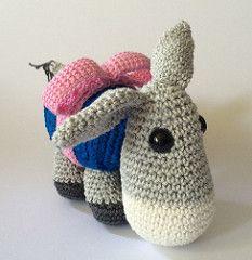 Dendennis Pakezel from the book Let's celebrate (arina23111963) Tags: crochet donkey amigurumi pakezel hakeln dendennis