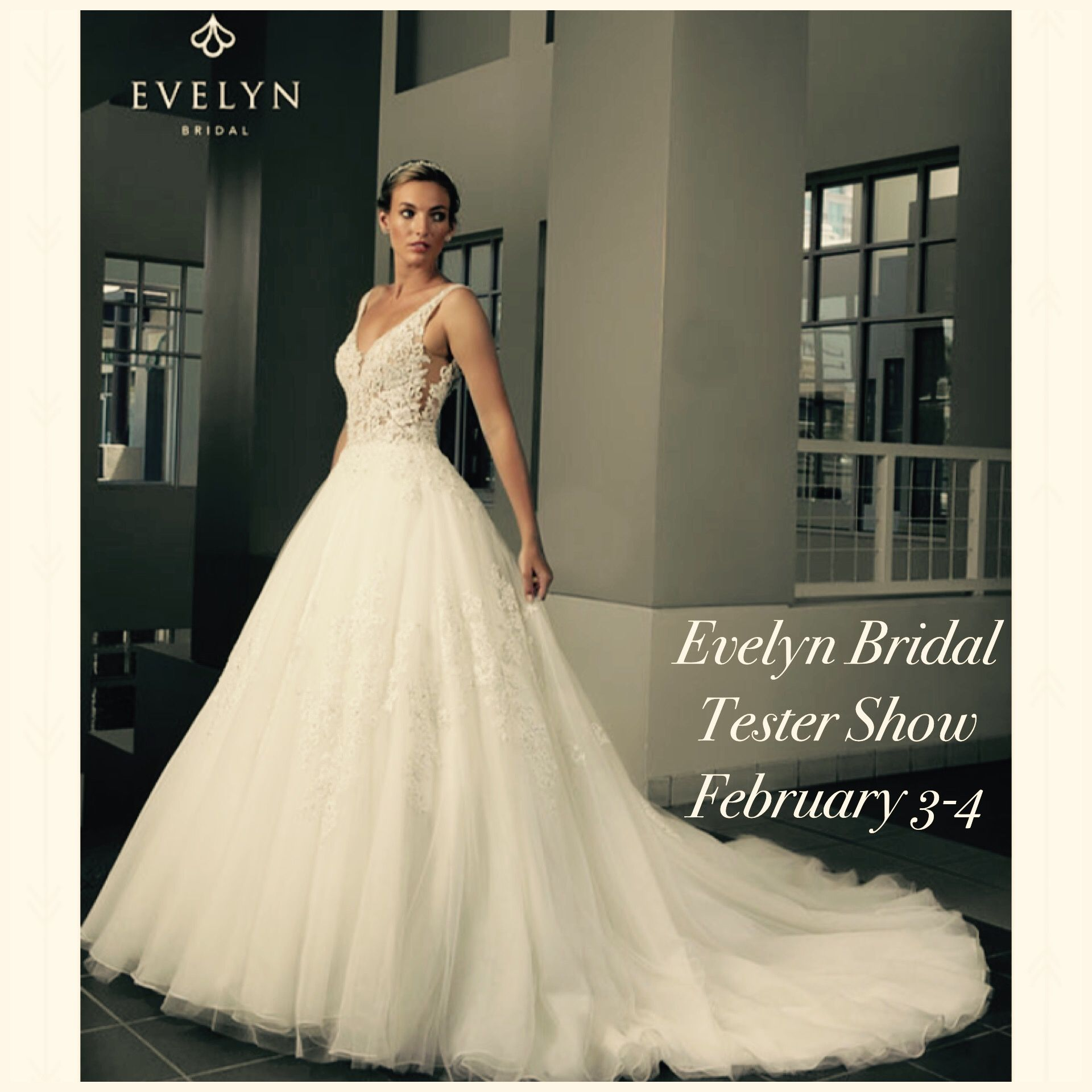Evelyn Bridal wedding dress bridal trunk show spring 2017 and best ...