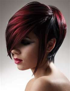 HAIR IDEAS:  It's been a year... time to do something drastic ;)