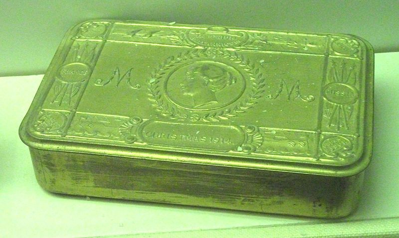 Princess Mary Christmas Gift tin, 1914.