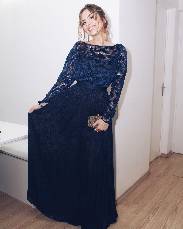 de0a72c49 O Vestido de festa ideal para o seu tipo de corpo - Van Duarte Vestido azul