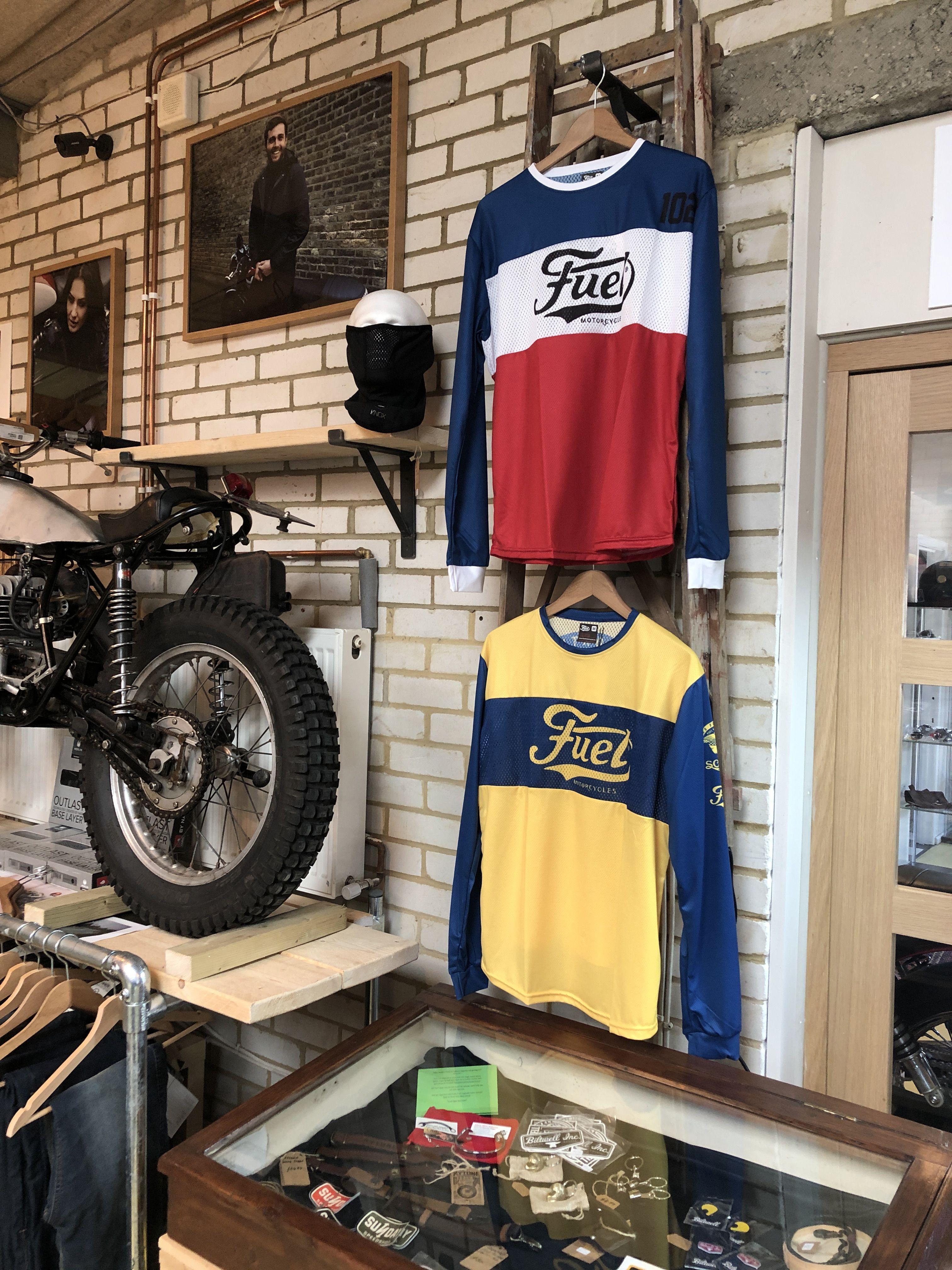 Download Fuel 102 Enduro Jersey Legacy85 Jersey Clothing Mockup Cafe Racer Bikes