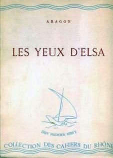 Louis Aragon Les Yeux D Elsa : louis, aragon, D'Elsa, Louis, Aragon, (1942), Aragon,, Poeme,