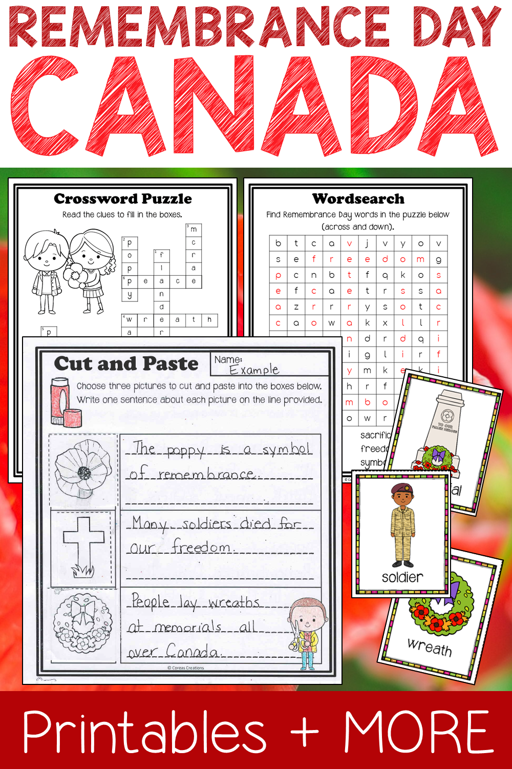 Remembrance Day Canada General Teaching Stuff Pinterest