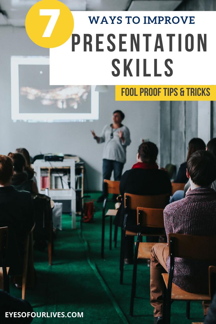 7 Ways To Improve Presentation Skills Presentation Skills Good Presentation Skills Presentation Skills Training