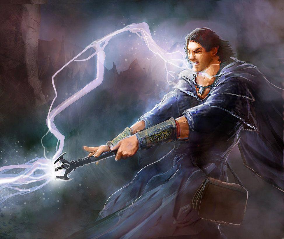 Card Art Wizards Apprentice By Mattforsyth On Deviantart