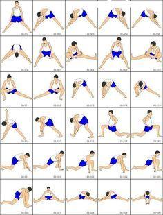 pilates warm up exercises | Core | Pinterest | Exercises